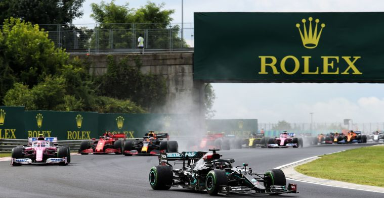 These are the times for the 2021 Hungarian Grand Prix