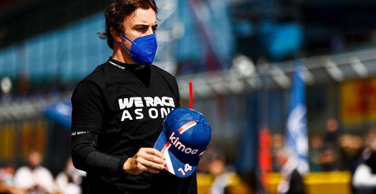 Alonso maakte zich zorgen omtrent zijn comeback in de Formule 1