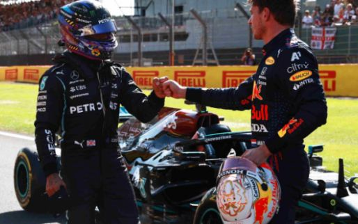 Protest Red Bull onsuccesvol; geen zwaardere straf voor Hamilton
