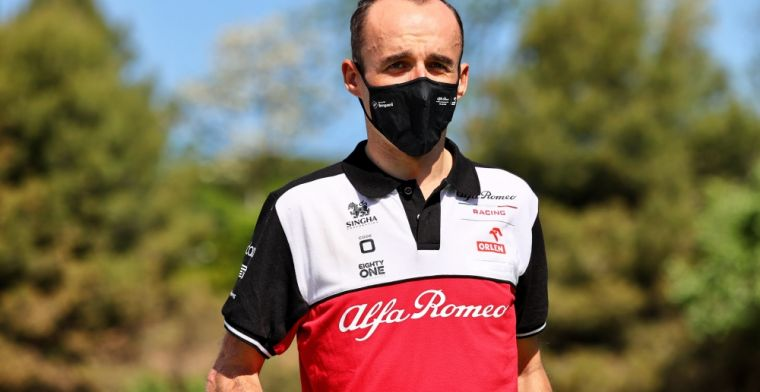Kubica in action at Hungaroring for Polish fans