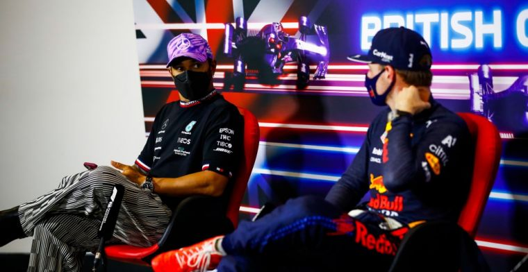 FIA doesn't dare put Verstappen and Hamilton next to each other
