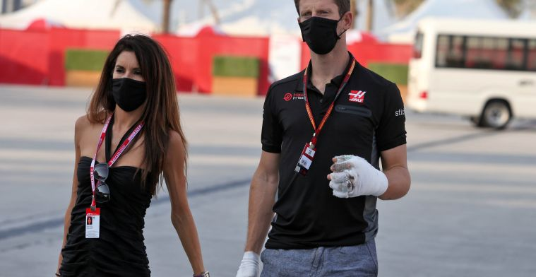 Grosjean komt terug op besluit en staat voor eerste test op oval-circuit