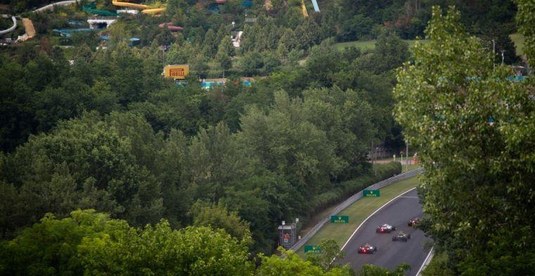 Verstappen vs Hamilton in de regen? Dit is de weersverwachting voor komend weekend
