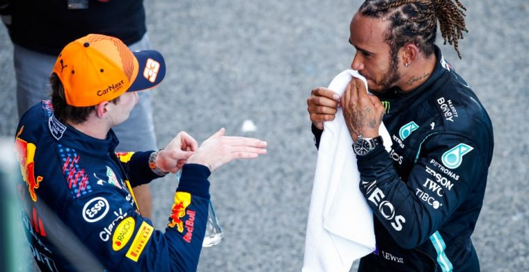 Battle Verstappen and Hamilton continues on their bank accounts