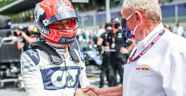 Gasly: 'Pérez seems to be staying there as well'