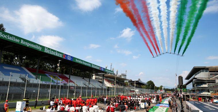 The 2021 Italian Grand Prix at Monza WILL have spectators in grandstands