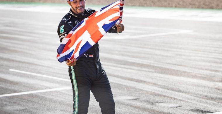 Hamilton: 'Celebrating victory was not disrespectful'