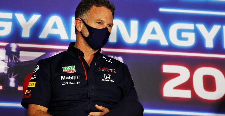 Horner over haatreacties Hamilton: 'Trouwens, Verstappen kreeg ze ook'