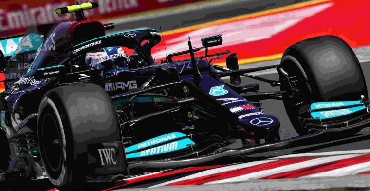 Mercedes made balance adjustments: 'It felt good'