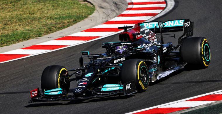 Hamilton had a tough time: 'Think I lost three kilos today'