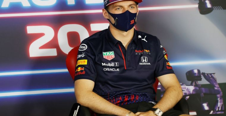 Verstappen doesn't give anything away: 'Don't need to go into details'