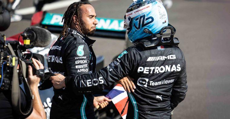 Hamilton ontkent Verstappen opgehouden te hebben en sneert naar Grosjean