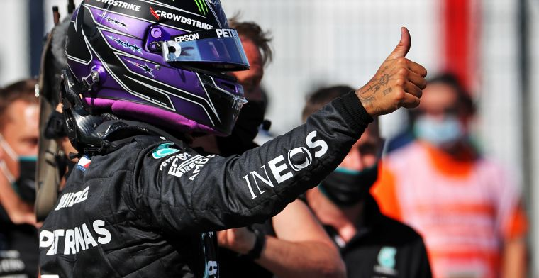 Video: Hamilton booed by fans after qualifying Hungary