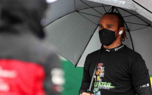 Hamilton terug van de dokter: 'Blijf vechten om fit te blijven'