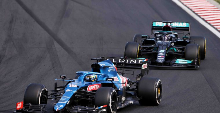 Alonso dacht aan kampioenschap: Het was ook belangrijk voor Max!