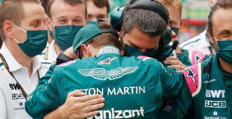 OFFICIEEL: Vettel raakt tweede plaats kwijt door diskwalificatie