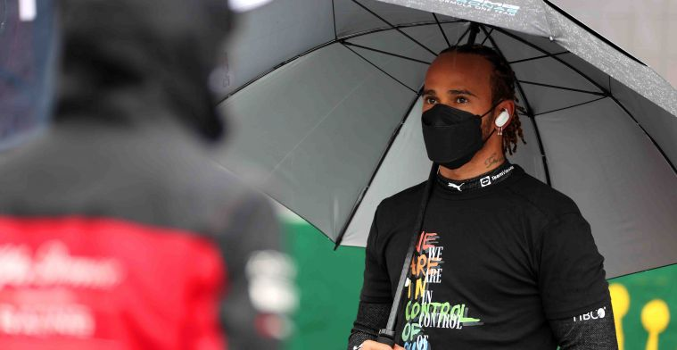 Hamilton back from the doctor: 'Keep fighting to stay fit'