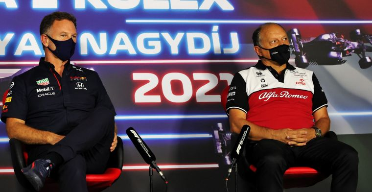 Horner: 'Fortunately Mercedes made a strategic blunder today'.