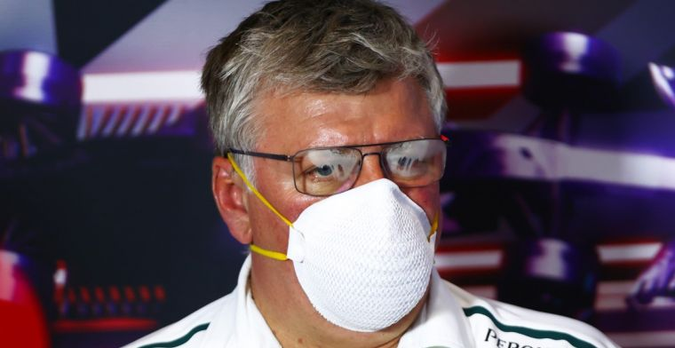 Szafnauer contradicts FIA: 'There was much more fuel in the tank'.