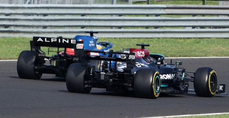 Alonso on his defensive work: 'Hamilton always complains'