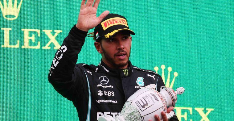 Hamilton meldt zich niet bij pers; coureur uit voorzorg langs teamdokter