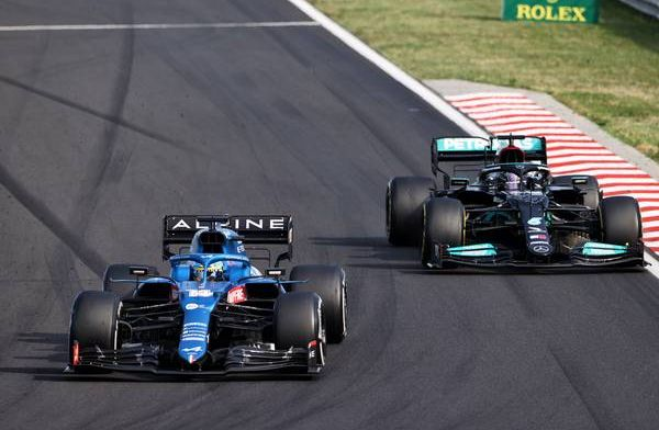 Alonso houdt Hamilton lang achter zich: Wist niet dat dat genoeg was