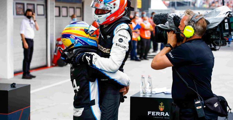 Alonso zéér overtuigend naar zege in 'GPBlog Driver of the Day'