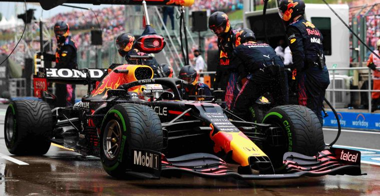 Criticism of Red Bull: 'Why not gamble with Verstappen on slicks?'