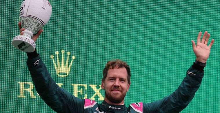 Vettel still second in results for now due to appeal by Aston Martin
