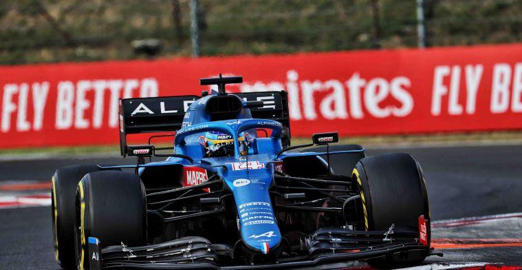 Verdient Alonso een tweede jaar bij Alpine? 'Ben het aan het overwegen'