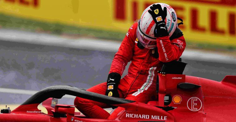 Leclerc: 'Can't believe Stroll makes move for P4 from P15 or so'