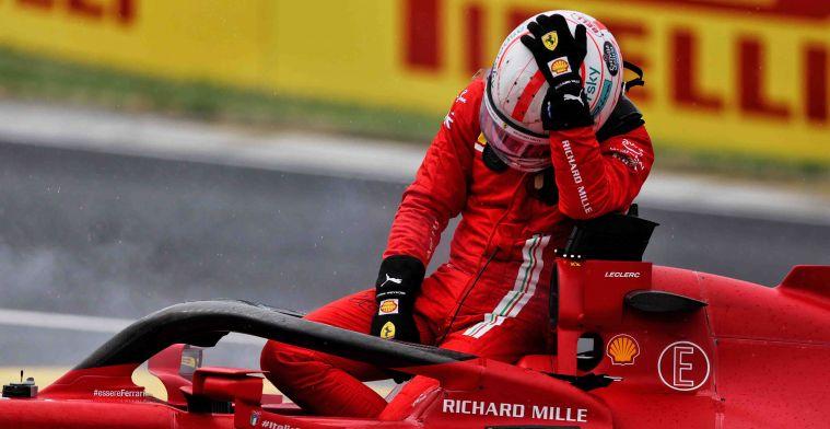 Leclerc weet dat kleine fouten kunnen worden gemaakt: 'Maar dit was geen kleine'