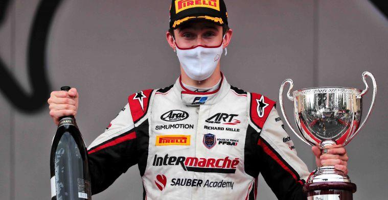 17-jarig supertalent maakt woensdag F1-test debuut bij Alfa Romeo
