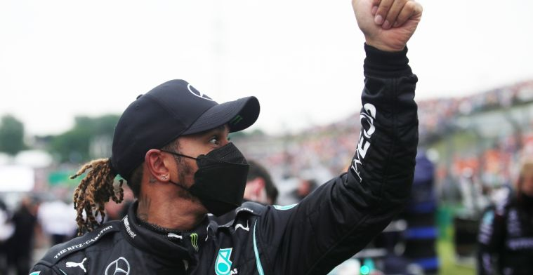 Hamilton ridiculed: 'That way he can't hit anybody, clever'