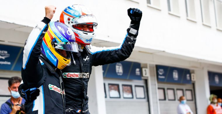 Alonso praised: 'He fought like a lion'