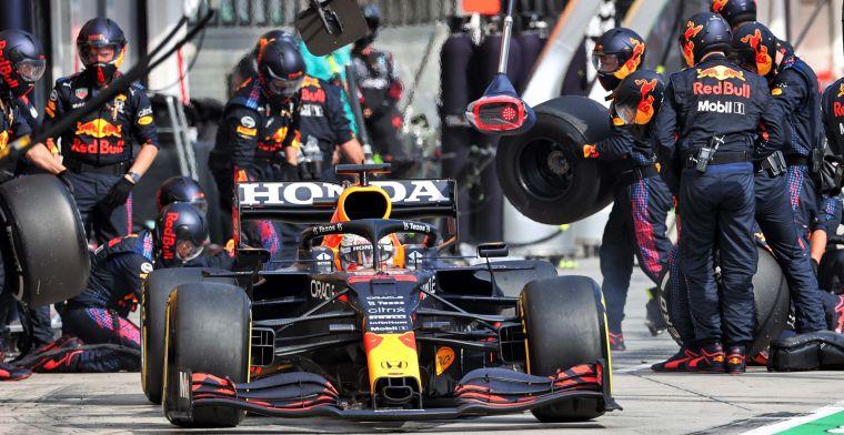 Red Bull moet in de achtervolging: 'Komende races zijn Mercedes-circuits'