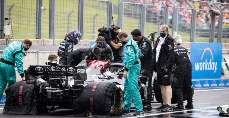 Why bringing Hamilton in after red flag wasn't so obvious