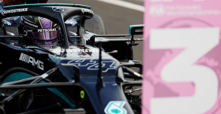 Verbazing over Mercedes: 'Raar dat ze niet de hele voorvleugel vervingen'