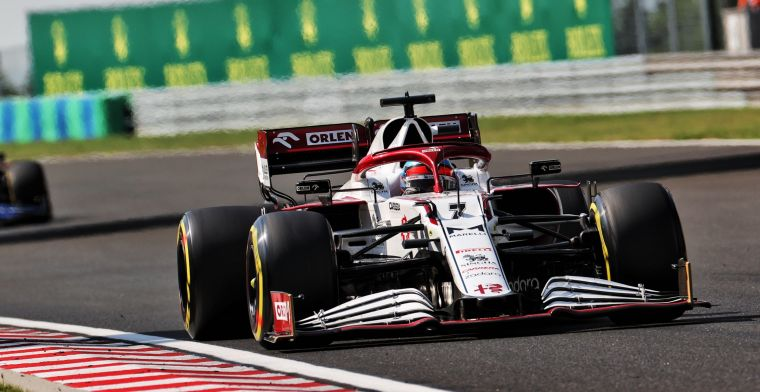 Surprising face makes F1 test debut with Alfa Romeo