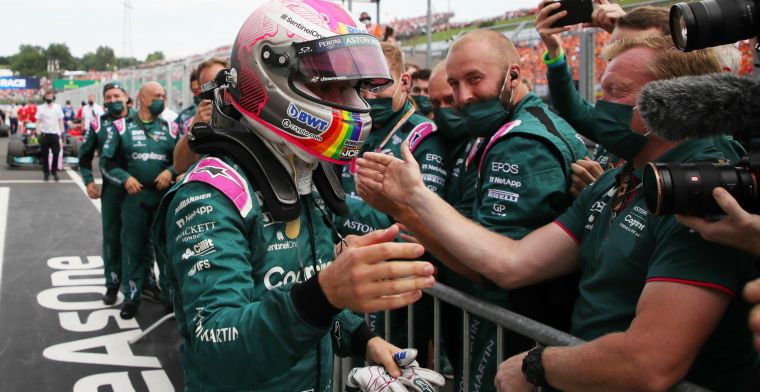 BREAKING: Aston Martin in protest against disqualification of Vettel after new evidence