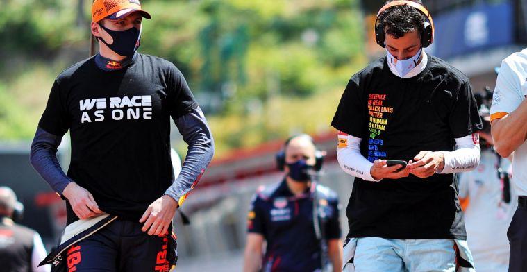 Ricciardo blikt terug op het voorkomen van pole-record Verstappen in Mexico