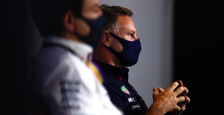 Red Bull opnieuw pechvogel: 'Mercedes heeft al hun geluk nu wel opgebruikt'