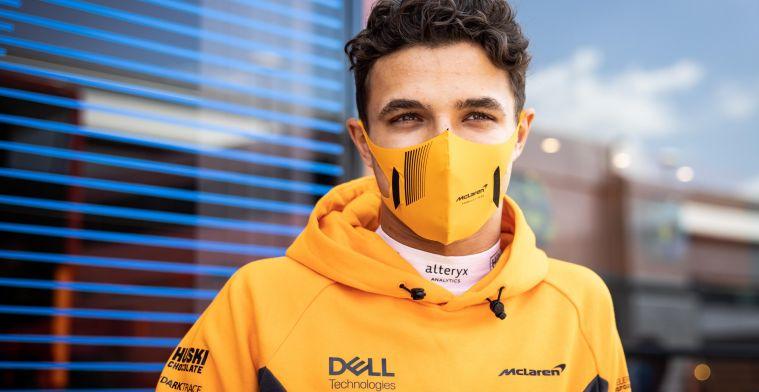 Norris: 'Heb meer zelfvertrouwen in gevechten met Hamilton en Verstappen'