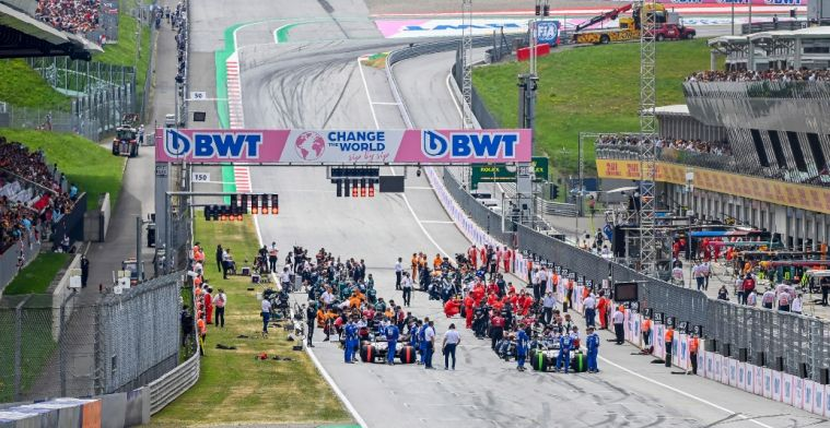 Organisers adapt Red Bull Ring layout for MotoGP, no consequences for F1