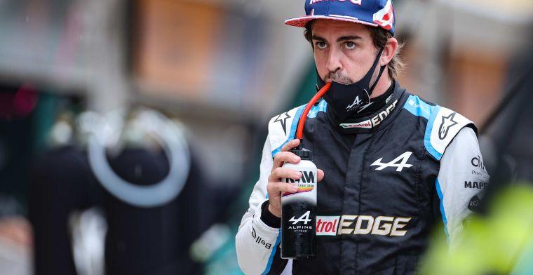 Alonso blikt terug op eerste seizoenshelft: 'Aanpassen aan F1 duurde lang'