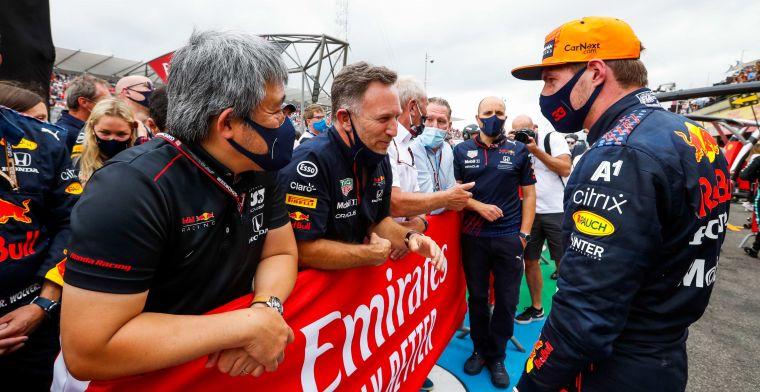 Verstappen zag crash in Silverstone als bevestiging: 'Ik zit op de juiste plek'