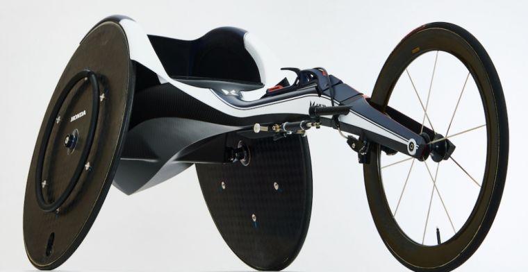 F1 en Paralympische Spelen komen samen in futuristische rolstoel