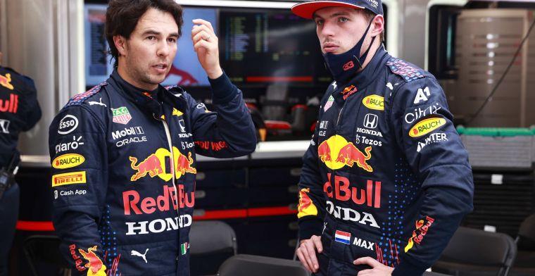 Perez heeft het zwaar bij Red Bull: 'Niemand wilt teamgenoot van Verstappen zijn'