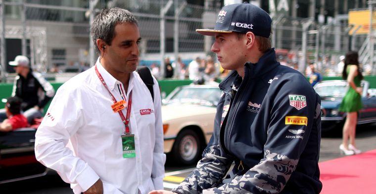 Montoya over Verstappen-incident: Dankzij hem zag ik eruit als een held
