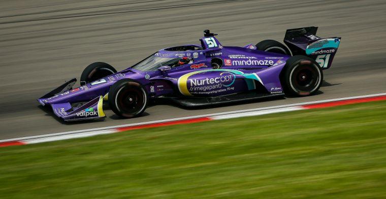 Eerste oval race voor Grosjean een geslaagd experiment: 'Wel foutjes gemaakt'